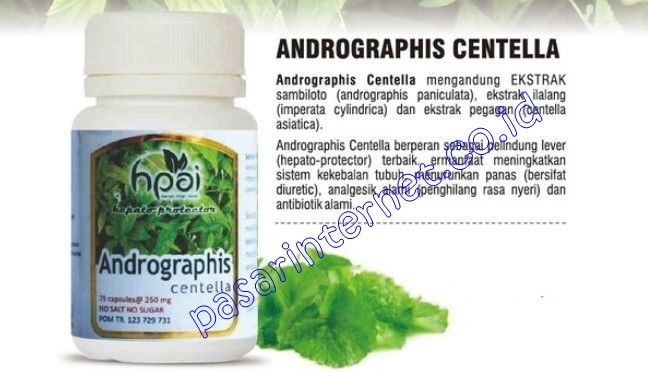 Andrographis Centella HPAI